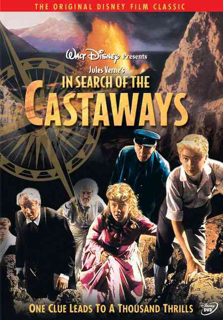 IN SEARCH OF THE CASTAWAYS BY CHEVALIER,MAURICE (DVD)